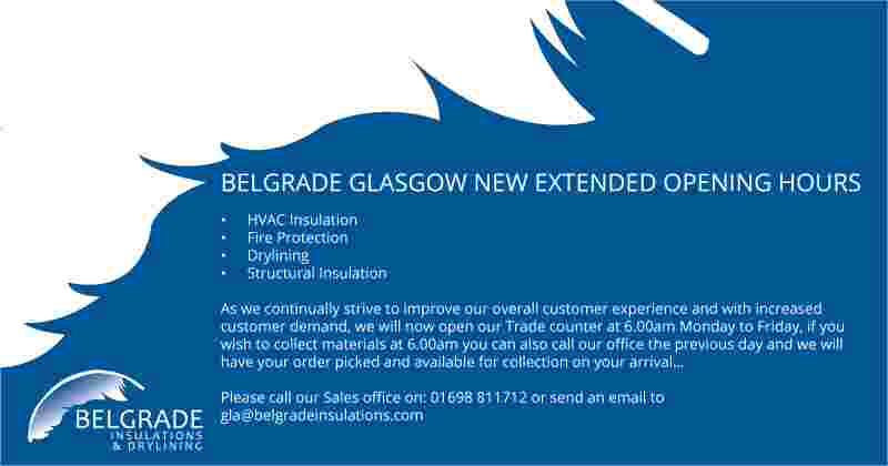 BELGRADE GLASGOW NEW EXTENDED OPENING HOURS